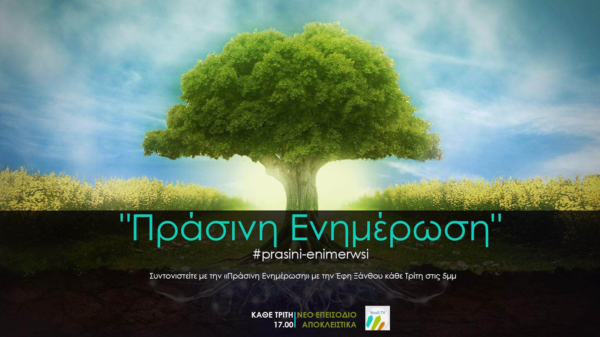 Πράσινη Ενημέρωση με την Έφη Ξάνθου @Vouli.TV | 02/03/2021